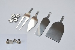 Stainless Steel Cheese Knife Set Kit