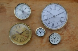 Variety Pack of our 5 most popular insert clocks