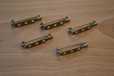Brooch Mounts (5 pack)