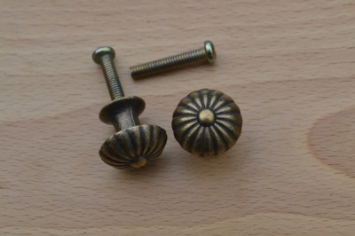 Bronze Finish Knobs (2)