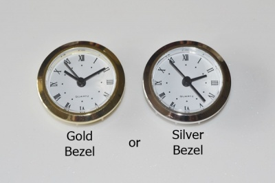 49mm Insert clock kit Gold or Silver Bezel