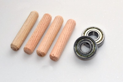 Woodturners Bearing / Dowel Set