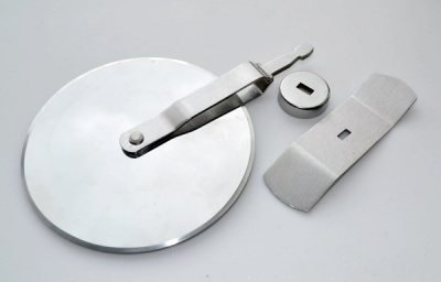 Large Pizza Wheel Kit - Stainless Steel