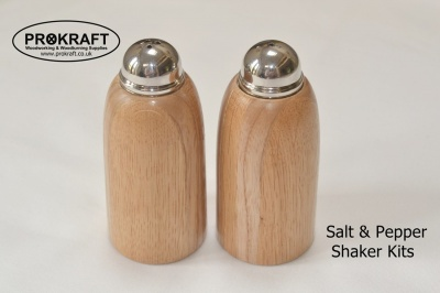 Salt & Pepper Shaker Kit