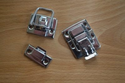 Chrome Toggle Clasps (2)