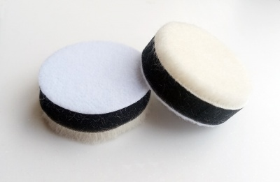 2'' Soft Cotton Polishing Pads (2-pack)