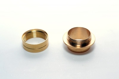 Woodturners Large Brass Thread (25mm)