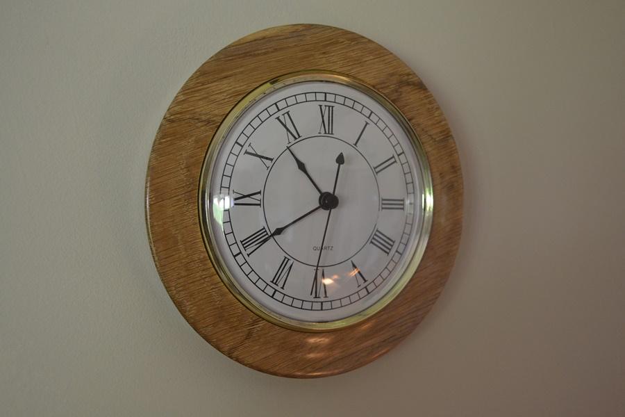 130mm Gold Bezel Insert Clock Kit
