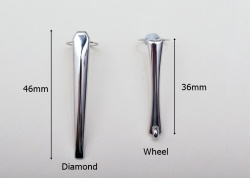 Chrome Pen Pocket Clips