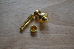 Brass / Gold Plated Push Button Box Catch