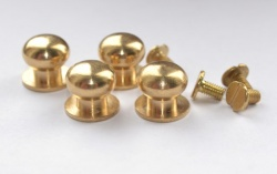 Solid Brass Knob Set  (10mm)