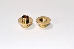 Woodturners Brass Thread Connector / secret compartment kit