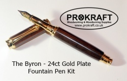 Byron Premium Fountain Pen Kit