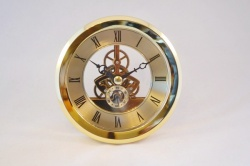 Skeleton Clock Insert 103mm Outer Bezel