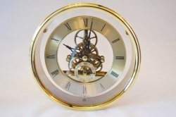 Skeleton Clock Insert 150mm Outer Bezel