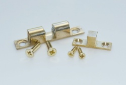 Solid Brass Double Ball Bearing Catch