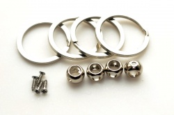 Keyring Bead Kits (pack of 4 kits)