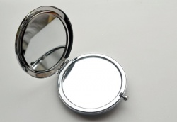 Large Chrome Vanity Mirror Kit