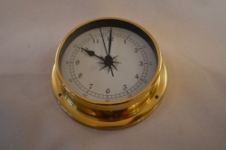 Large Brass Case Marine Style Clock Kit
