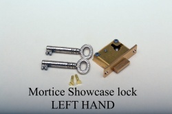 Mortice Showcase Lock