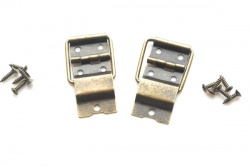 Bronze Finish Bar Style Box Stay Hinges