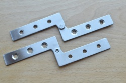 Offset Knife Hinge / Pivot Hinge S/Steel (pair)
