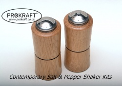 Stainless Steel Shaker Top Kits (S&P)